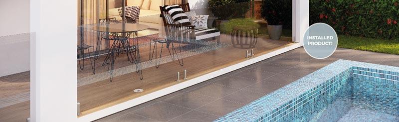 Easydrain pool edge